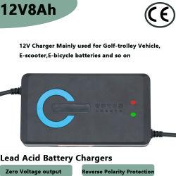 3-stadia 12V8ah de Automatische Lader van de Batterij van de Auto van het Lood Zure Externe