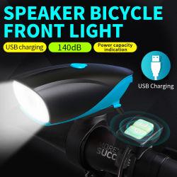 На велосипеде велосипед лампа LED USB аккумулятор установлен горных цикла лицевая и оборотная лампы фар