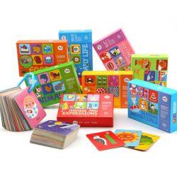 Memória personalizada bebê Cartões Flash Aprender Inglês