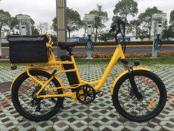 食糧貨物ボックスが付いている食糧配達電気自転車