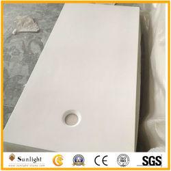 El roll-Ada Artificial mármol cultivadas sólida base de la ducha para minusválidos Showeroom