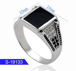 Новый стиль моды украшения кольцо серебро 925 с кубической обедненной смеси камня