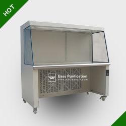 수직 층류 공기 흐름 클린 벤치, 304 등급 스테인리스 스틸, Class-100, ISO-5