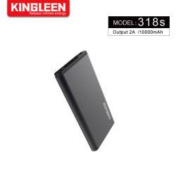 10000 mAh Slim Banco Power Gadgets con sistema de conversión de Carga de seguridad, diseño ultra fino para el teléfono, Tablet