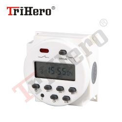 AC220V Digital Th615 Power Timer LCD temps programmable Interrupteur relais 15A Temporisations CN101 Temporisateur