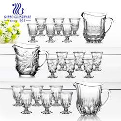 l'nuova alta qualità di disegni 7PCS ha inciso l'insieme bevente di vetro (GB12082HH)