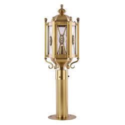 Bronzegarten-Kupfer-im Freienrasen-Lampe W225*H700