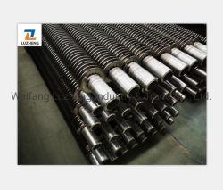 P235tr2 20g 16mo3 Caldera de acero al carbono h o hh el tubo de aletas, P265tr1 EN10216-1 en espiral del tubo de aletas de refrigeración