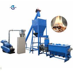 500kgs/H Bulgarije Popular Spruce Beech Biomass Sawdust/ Wood Pellet Mill