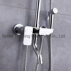 Regen-Dusche-Messingbadezimmer-Niederschlag-Sprenger-Dusche-Sets