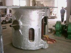 La fonte en fonte en laiton four à induction 500kg - 1000kg mini haut-fourneau électrique d'induction