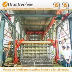 Neuer Vorbehandlung-Systems-Puder-Beschichtung-Geräten-Spritzlackierverfahren-Produktionszweig für Fertigung-Aluminium-Profil