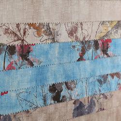 Das meiste populärer Polyester-Leinenblick gedruckte Vorhang gesponnene Gewebe 100%