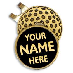 Sport Mode personnalisé en métal couleur argent plaqué or de l'émail doux Honeycomb parcours de golf Golf Hat Cap Clip réparer encoche Outil Marqueur de Balle de Golf