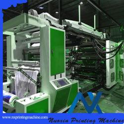 4 آلات طباعة بلاستيكية (NuoXin) مزودة بتقنية Flexo Letterpress