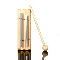 Oferta especial percusión Orff 2 tonos fonemas Wind Chimes Campanillas Bar toca el tubo de sonido