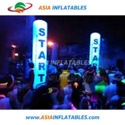 Cône de décorations d'éclairage de la publicité extérieure Inflatables