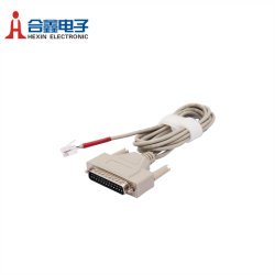 DB25 pin mâle pour câble de connecteur RJ-45