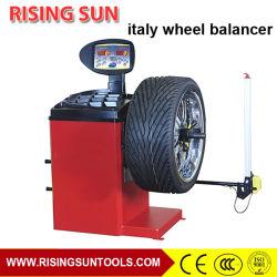 Equilibratura delle ruote usate attrezzatura da officina automatica e macchina