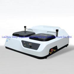 Laizhou Weiyi metalografía moliendo la máquina de pulir el MP-2b para pruebas de laboratorio