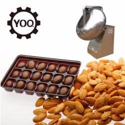 高速ステンレス鋼のアーモンドチョコレートコータ磨く鍋