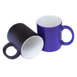 11oz céramique Tasse Magic changeant de couleur de la sublimation&Cup