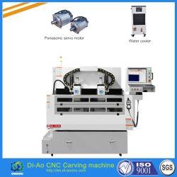 中国の電話保護ガラスまたはカバーレンズのための自動二重真空表CNCの打抜き機