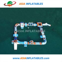 Sosta di sport di acqua di Inflatabel, sosta commerciale gonfiabile dell'acqua