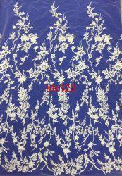 Горячая продажа цветочными орнаментами обычная Embroider кружевной ткани