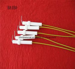 ガスこんろの点火装置のための工場卸し売りアルミナの陶磁器の電極