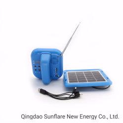 Marcação RoHS piscina IP65 resistente à água a rádio FM/SD/2W Luz da Luz Solar lanterna LED