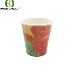 PLA Revestidos Soda bebidas frias papel descartável Sumo de copo de sumo, café e chá