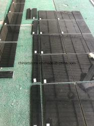 A China em granito preto absoluto azulejos de engenharia para projectos de construção
