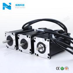 NEMA 24のエンコーダおよびドライバー/Drive/Controller/Stepperモーターを搭載するハイブリッド段階モーターまたはステップ・モータの/Stepモーターか容易なサーボモーターサーボ段階モーター