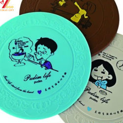 Groothandel Custom Heat Resistance Silicone Cup Mat (Yb-Sm-014)