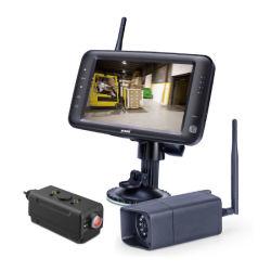 Système de caméra sans fil de chariot élévateur à fourche avec Mobile Power box