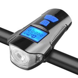 مصباح بوق الدراجة مع الكمبيوتر والنفير والضوء