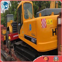 Usado Digger 210/215 Hyundai escavadora de rastos da Máquina com certificado CE