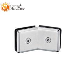 Renfort de partitions de 135 degré, en acier inoxydable de charnière de porte de douche en verre des clips