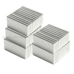 薄い棒長方形の正方形の強いN52 N42ネオジムの正方形磁石