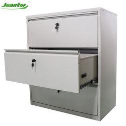 Системы хранения данных в поперечном направлении 3 4 выдвижной ящик подачи Кабинета/металла стали выдвижными ящиками
