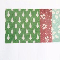 微かに光る包装紙DIYのクラフトのクリスマスのきらめきのペーパー