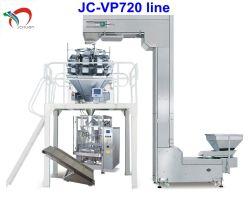 De volledige Automatische Verpakkende Machine van de Salade/de Verticale Lijn van de Machine van de Verpakking