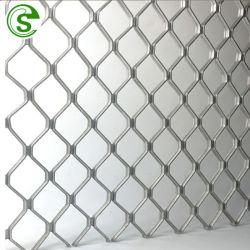 Diamante de alta calidad de la seguridad de la rejilla de malla de aluminio de Windows