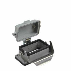 Caja de la NAD, montaje en panel conector metálico Conector para uso intensivo de una sola palanca