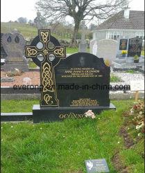 La Hongrie pierre tombale de granit de gravure de style européen tombe monument de cimetière
