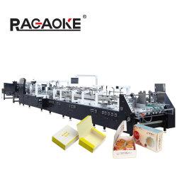 자동 4 6 코너 패스트푸드 피자 케이크 점심 카톤 박스 메이킹 머신 (GK-1100GS) 플레이트 뚜껑 스트로컵 폴더 글루어, 종이 봉투 성형 머신