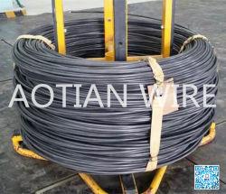 冷たいヘッディング品質合金によって引かれるワイヤー棒Scm435のクラスの12.9の締める物のPhospahte上塗を施してあるChqの鋼線