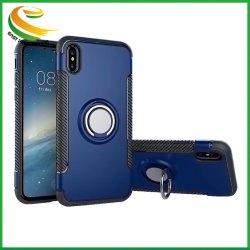 OEM-Car магнит магнитные кольца гибридный жесткий оболочки крышку ПК TPU Мягкий бампер телефон чехол для iPhone 5 6 7 8 X Xr Xs Max Plus для Apple