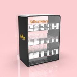 Dispositivi di spinta a 3 strati Vape e-Cigarette Custodia espositore succo acrilico e-Liquid